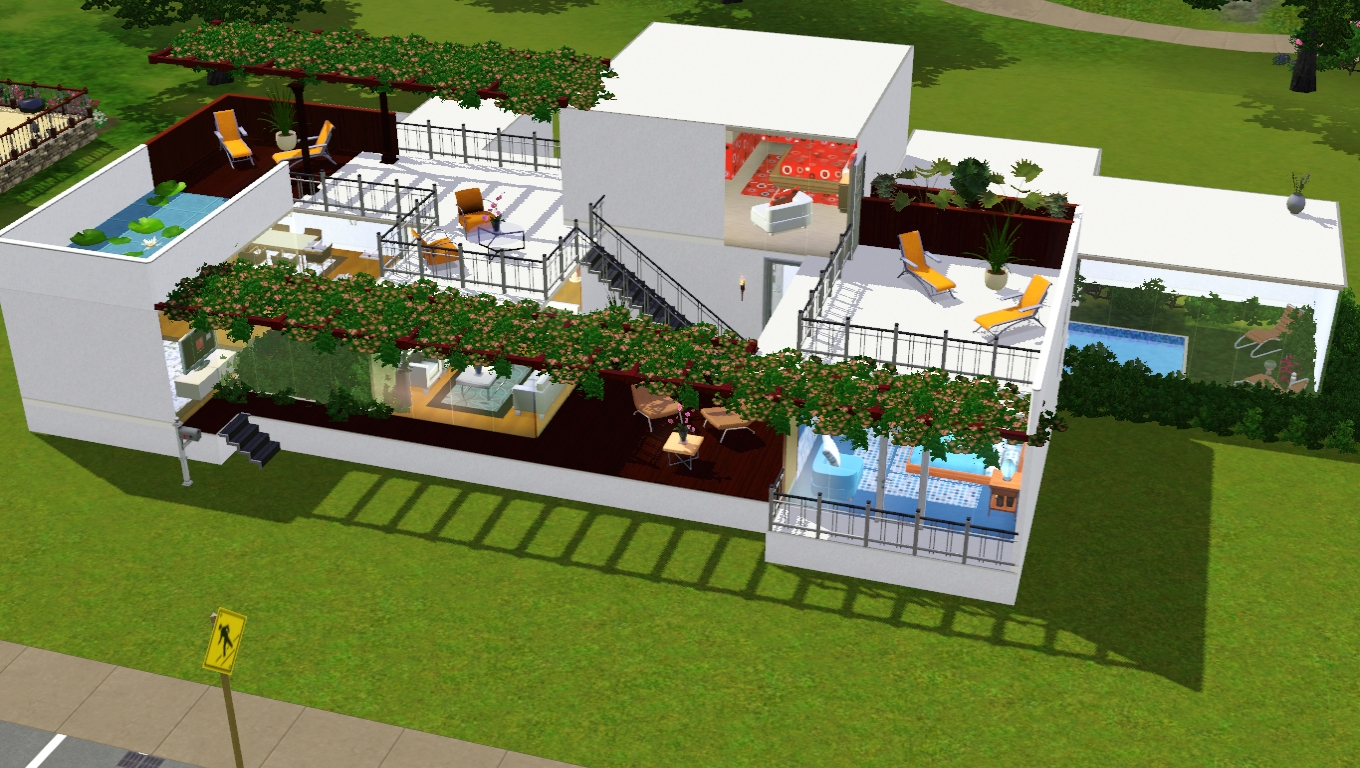 the sims 3 casas modernas em the sims 3