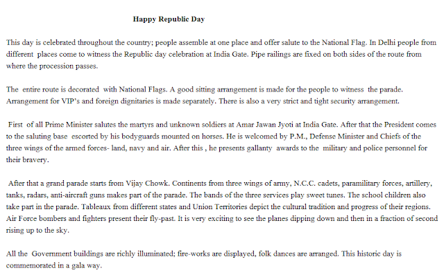Republic Day Speech for Students