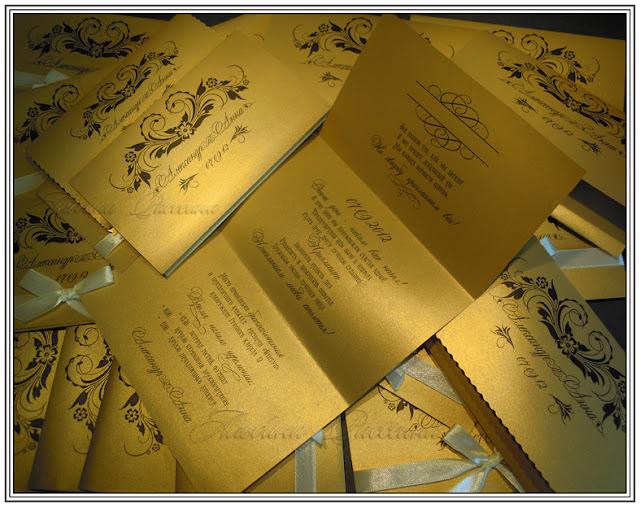 Этикет приглашения на свадьбу.
