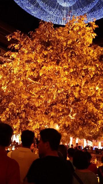Tree of Prosperity inside Wynn Hotel