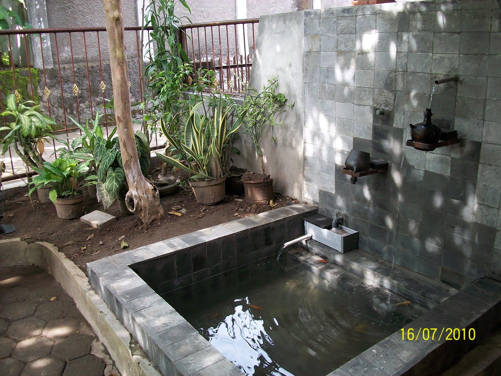 minimalis desain desain kolam ikan minimalis untuk rumah minimalis