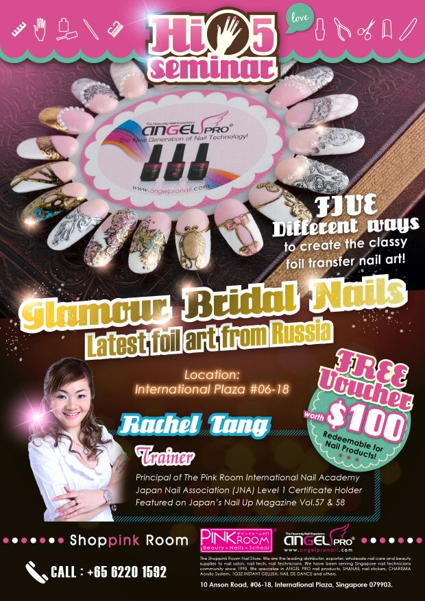 Glamour Bridal Nails Seminar