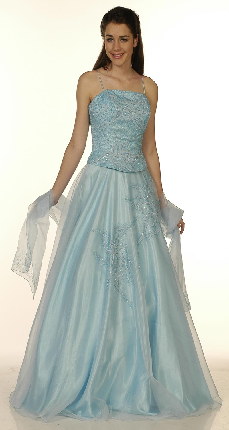 Bridal style and wedding ideas wedding dresses in blue for Wedding dress in blue