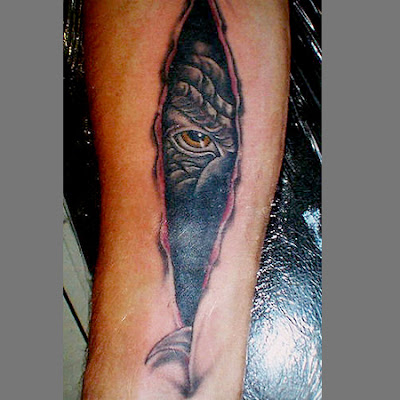 Tattoo Ilusion Optical