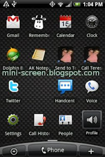 Tips-Trik: Android Home TouchScreen