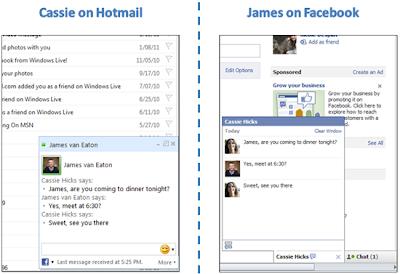 hotmail facebook