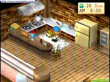 Games Harvest Moon – Back To Nature ini merupakan games PS1. Tapi