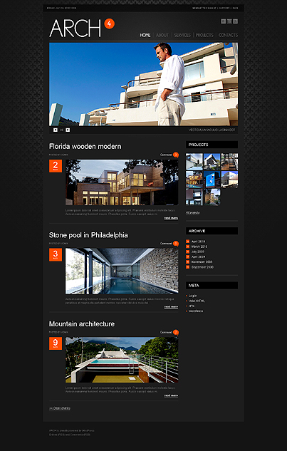 Architecture Wordpress Theme5