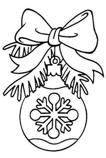 Раскраска колокольчик новогодний распечатать