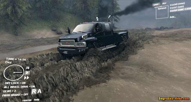 Spintires HD Wallpaper