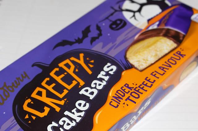 Cadbury Creepy Cake Bars (Cinder Toffee Flavour)