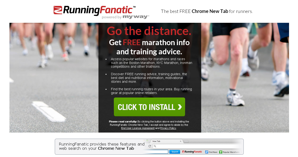 RunningFanatic Toolbar