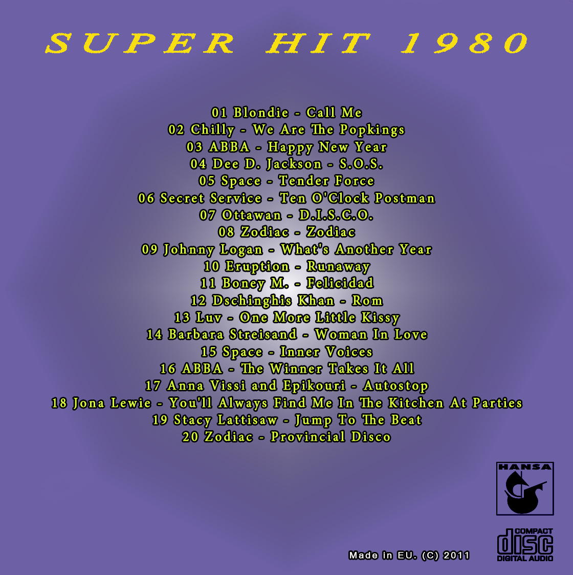 secret service band disco hits 80s