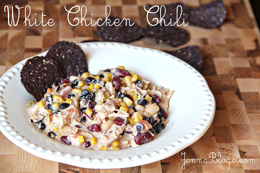 Jenna Blogs: White Chicken Chili