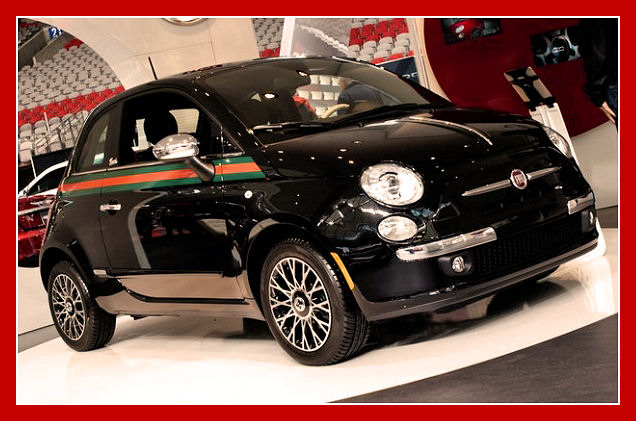 5ooblog fiat 5oo new fiat 500 by gucci 2012 vancouver show. Black Bedroom Furniture Sets. Home Design Ideas