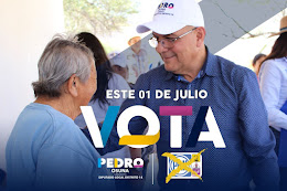 Pedro Osuna Lopez, Candidato a la Diputacion 14 Distrito