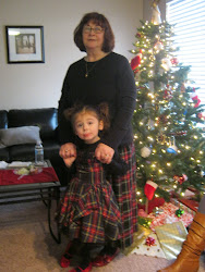 Grannie and Tillie by Jared's Christmas Tree