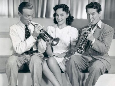 Second Chorus stars Fred Astaire, Burgess Meredith as two trumpet players competing for the attentions of the gorgeous Paulette Goddard