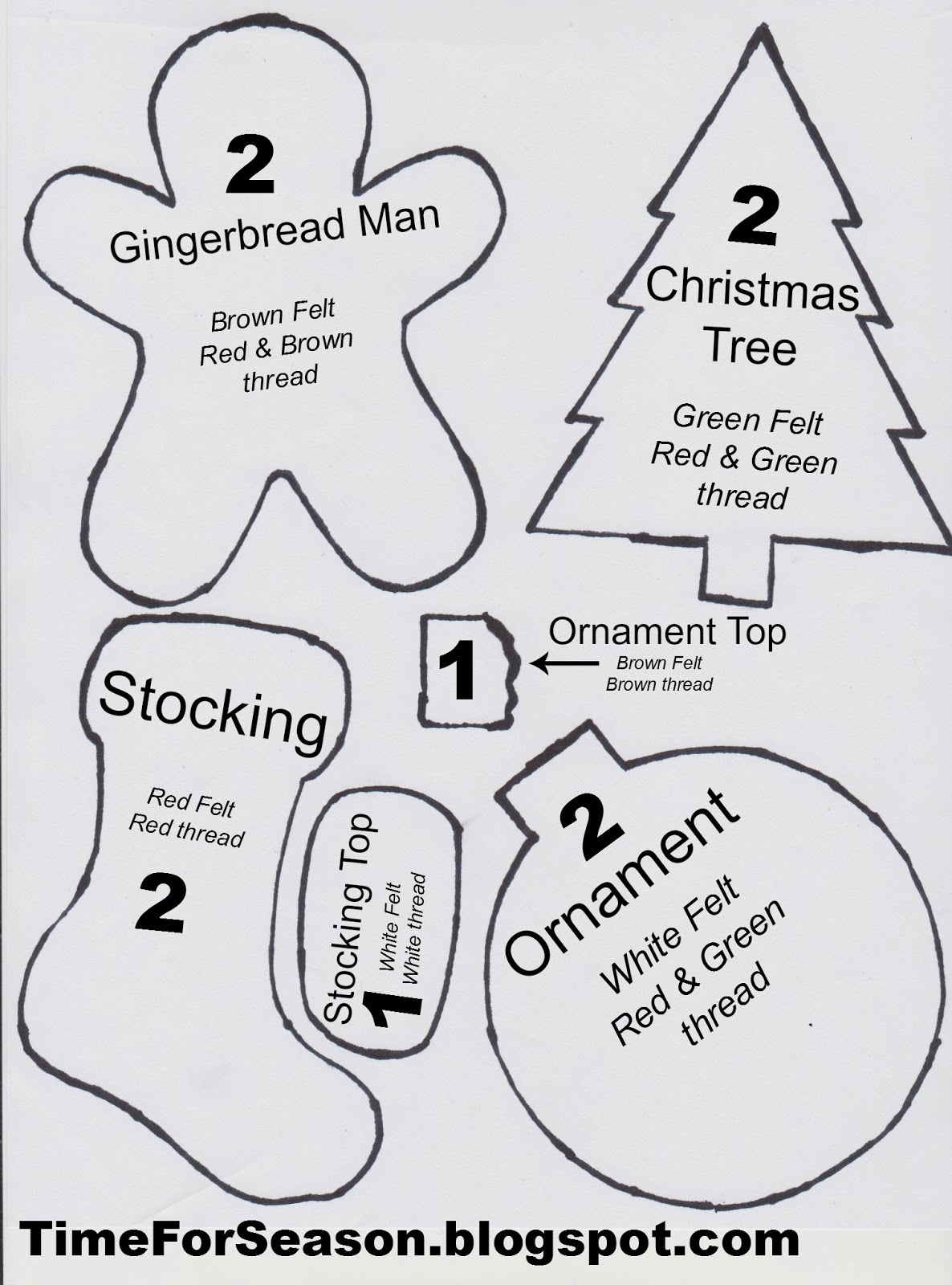 Wooden Christmas Stocking Hangers