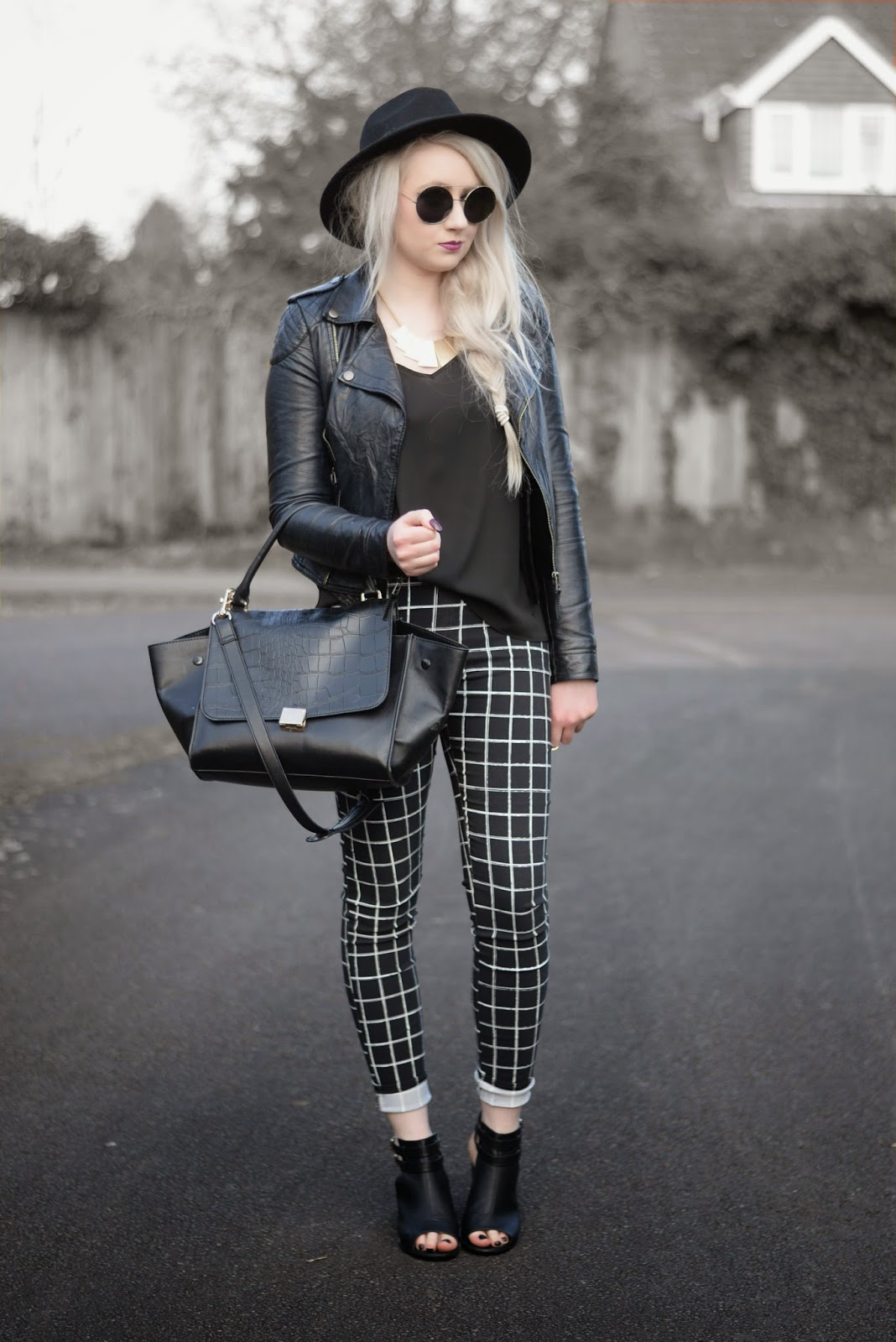 Sammi Jackson - Checked Trousers