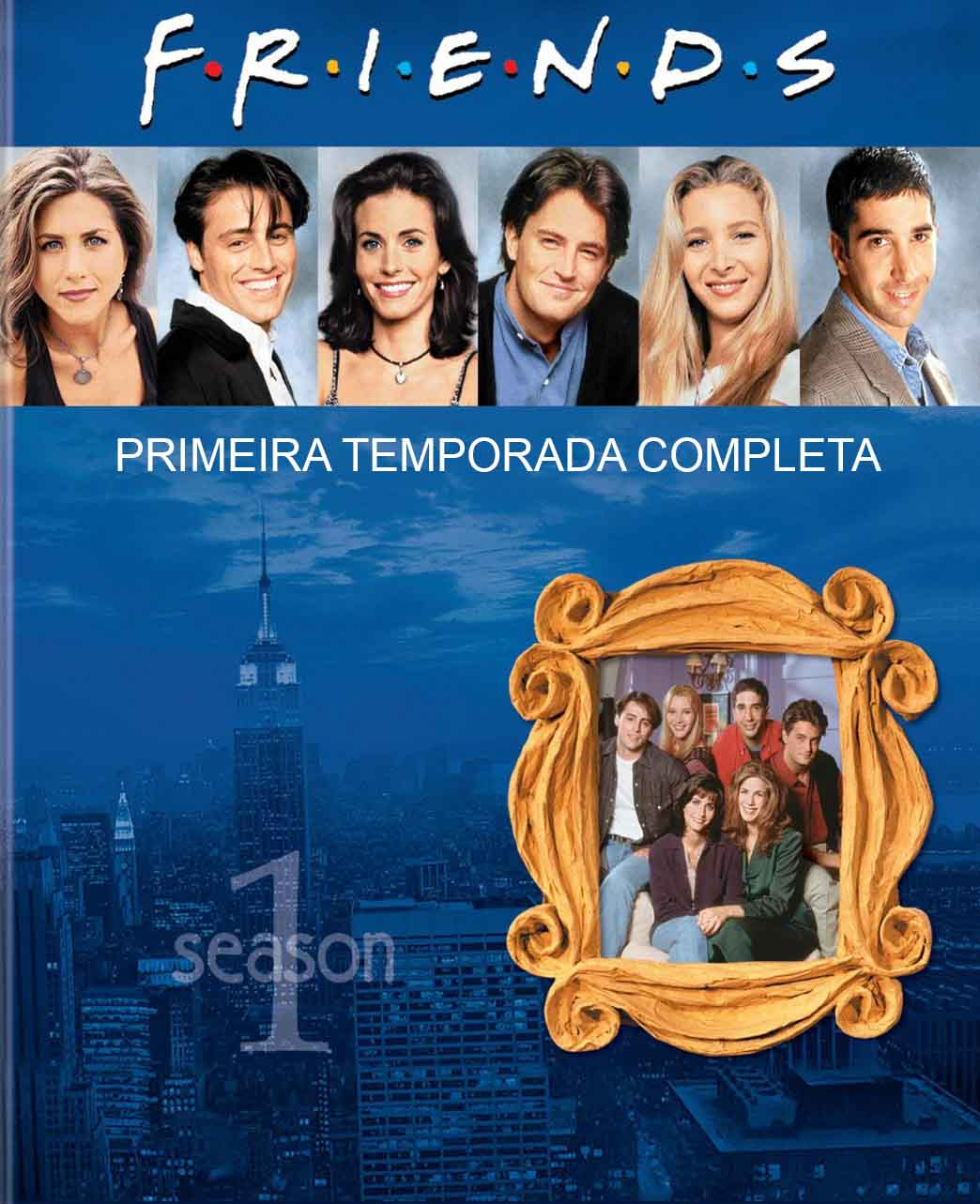 Friends 1ª Temporada Completa Torrent – BluRay 720p Dual Áudio