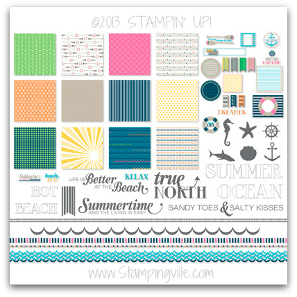 Stampin' Up! Anchors Away Digital Kit