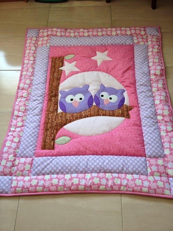 Ideias para voc se inspirar de patchwork a arte do fazer - Telas para colchas infantiles ...