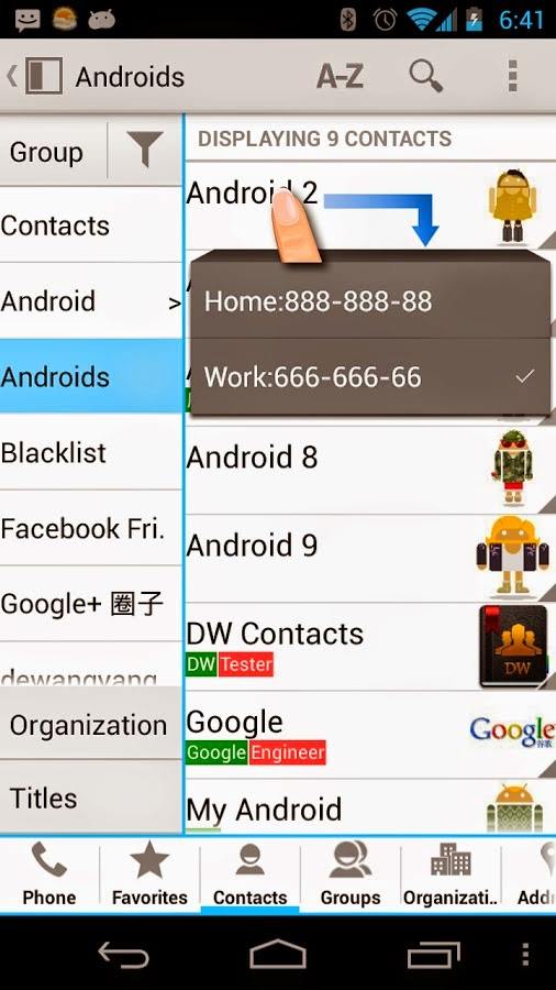 DW Contacts & Phone & Dialer v2.6.8.0-pro