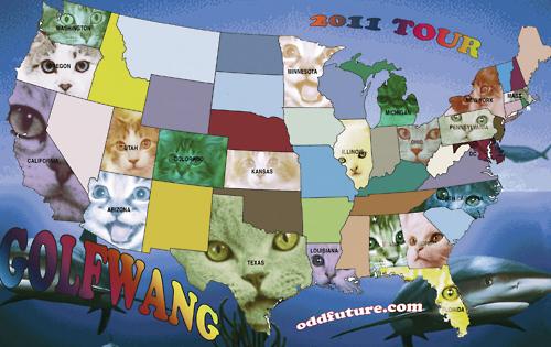Golf Wang Cat Wallpaper Odd future golf wang tour 2011