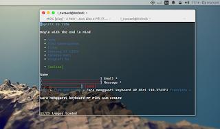 Internetan dengan Terminal di Ubuntu