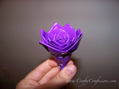 crafts flower : duct tape rose tutorial