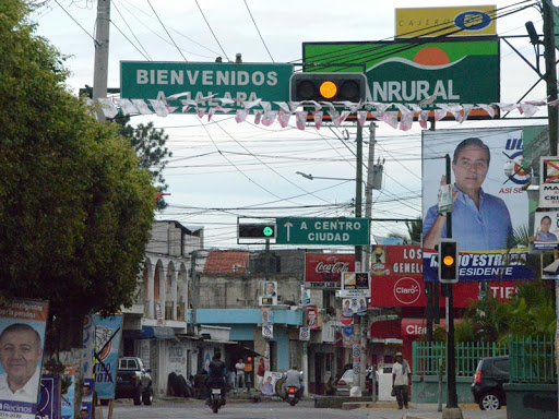 The sign says Jalapa but the locals still prefer Xalapa
