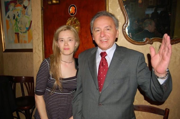 Una  gran amiga la Sra. Claudia Martínez Grecco