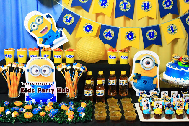 Despicable Me Minions Kids Party
