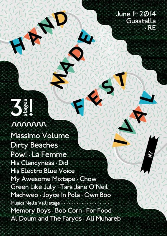 Handmade Festival 2014 - settima edizione - Guastalla (RE)