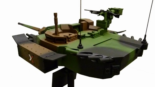 Nexter T40 Two Men Turret with CTWS40mm Main Gun