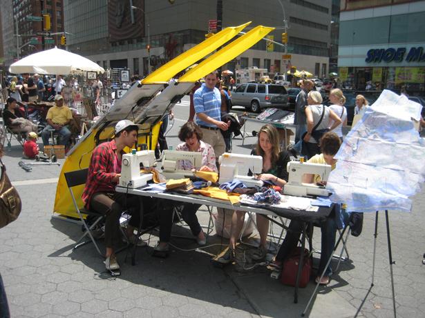 Máquinas de costura utilizam painéis solares