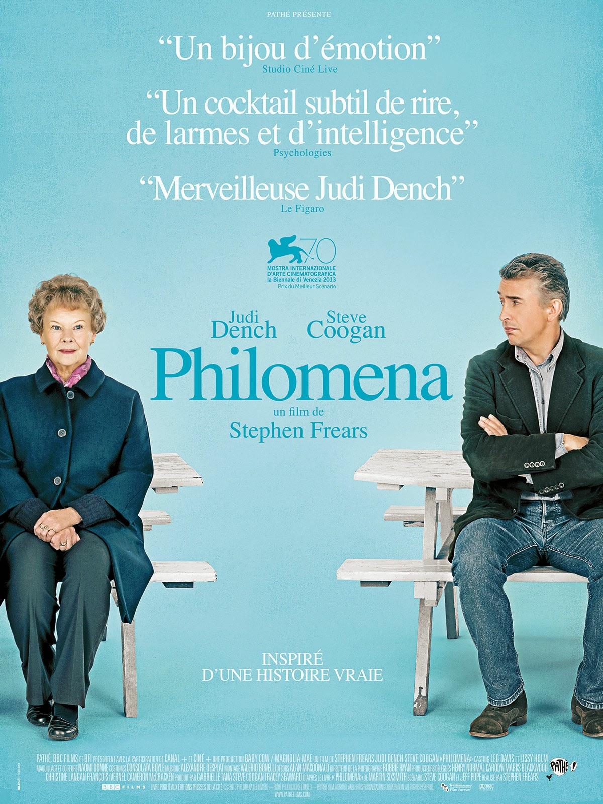 en 2013, Philomena, de Stephen Frears