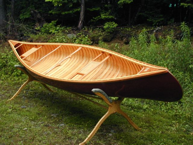 cedar strip canoes plans