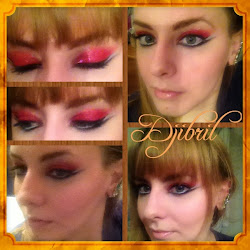 Katniss presidential party inspired make-up