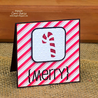 SRM Stickers Blog - Christmas Mini Cards by Corri - #Christmas #glassine #bags #labels #mini #stickers #twine