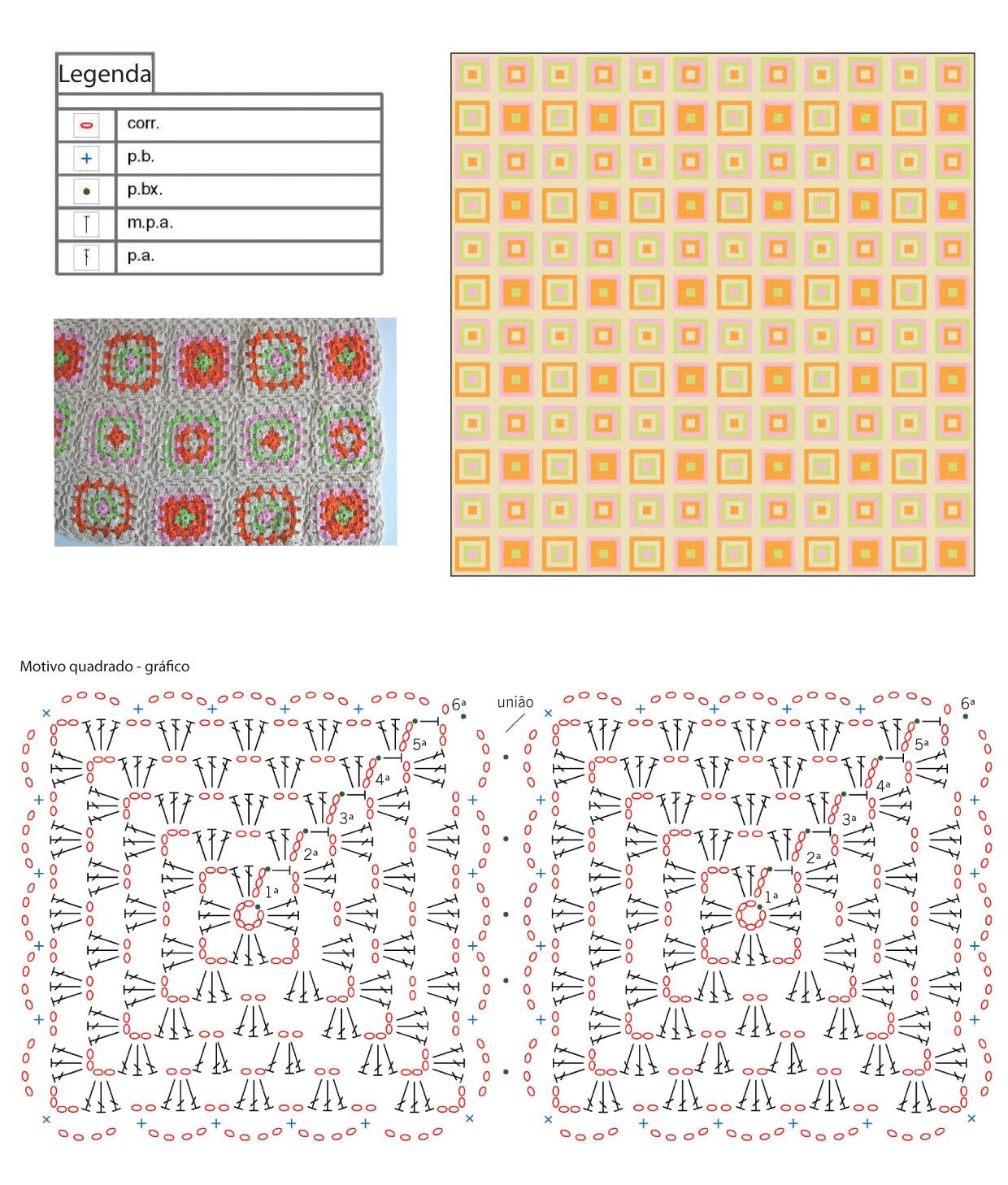 Pin Crochet Manta Croche Para Bebe Ponto Flores Delicadas on Pinterest