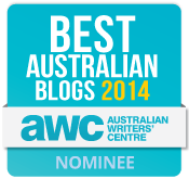 Best Australian Blogs 2014 Nominee