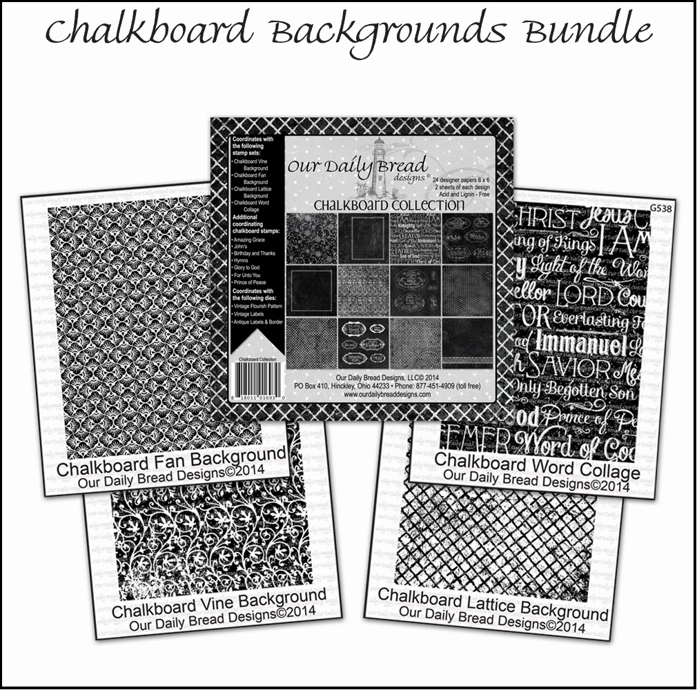 Stamps - Our Daily Bread Designs Chalkboard Backgrounds  Bundle