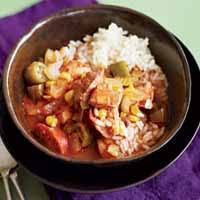 Weight Loss Recipes : Cajun Chicken and Andouille Soup