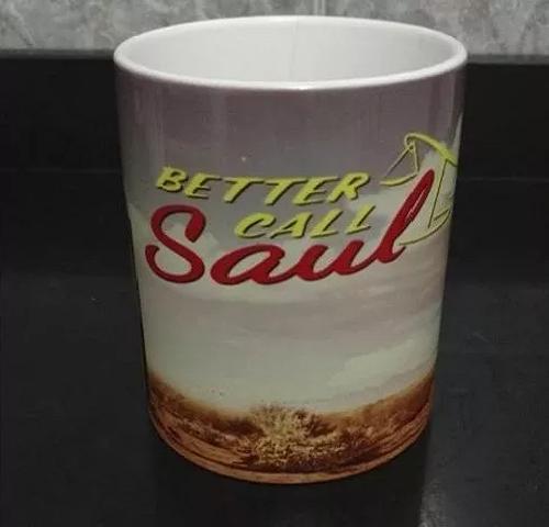 Caneca Cerâmica Better Call Saul