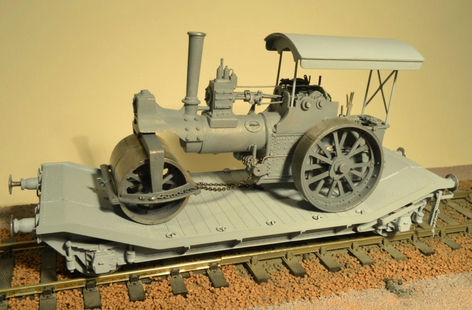 Petesworkshop  Steam Roller Wagons