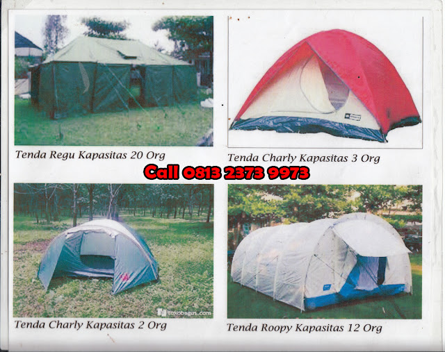 Booking Tenda di Kampung Cai Rancaupas
