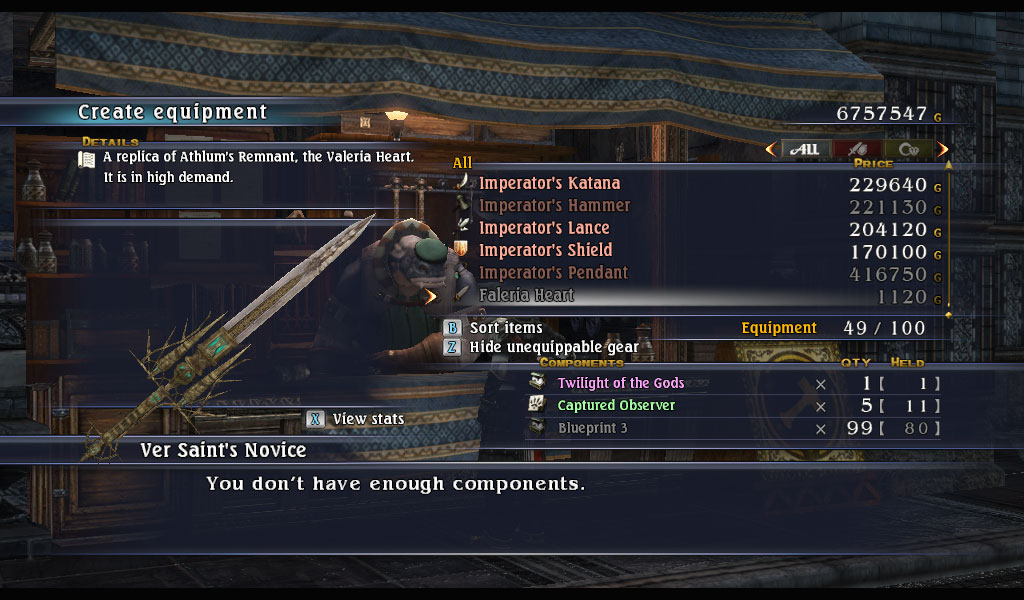 Dontspam2meplz whitehorn the last remnant faleria heart malvernweather Gallery