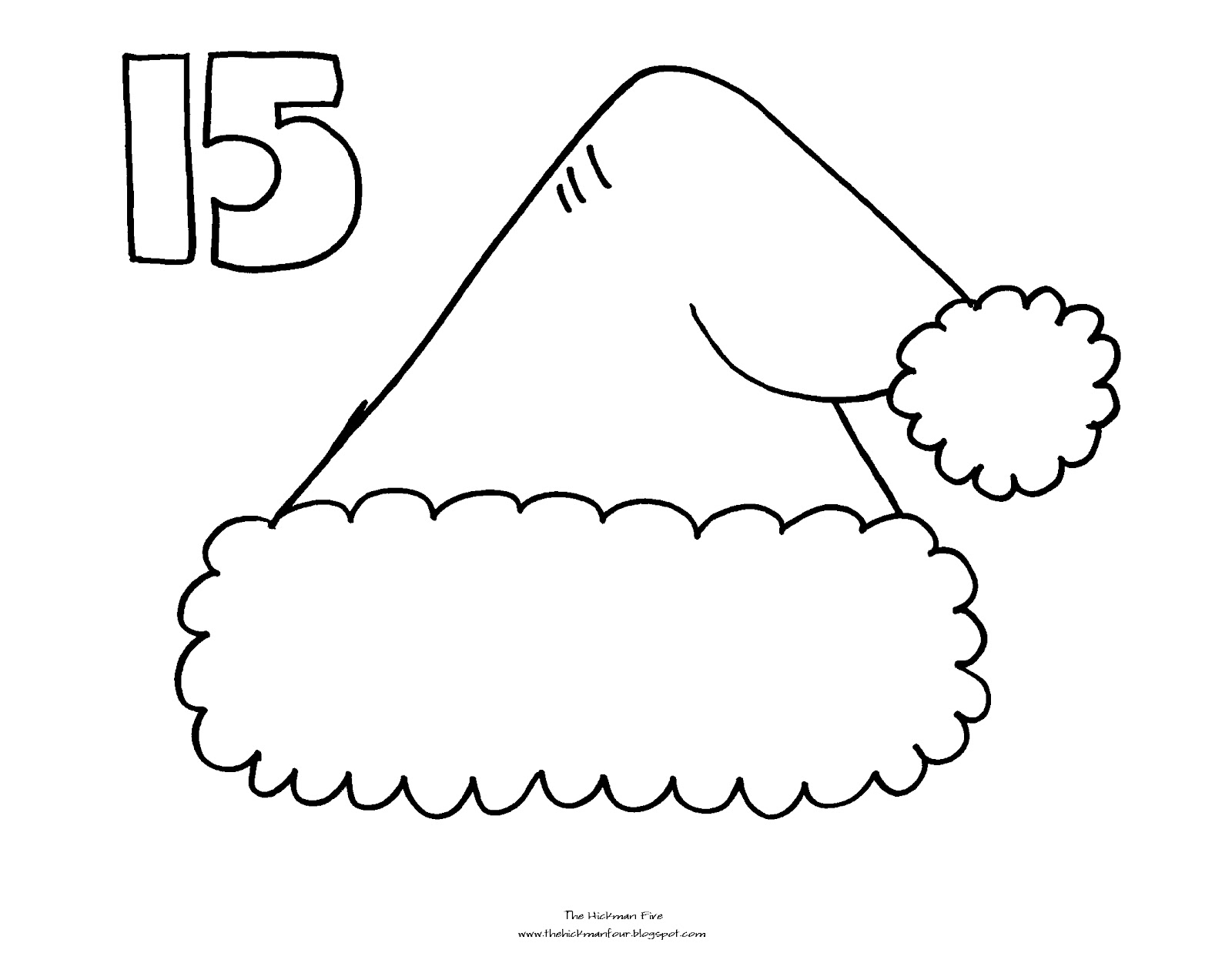 Free Christmas Tree Calendar Countdown Calendar Template Tree Countdown Coloring Page